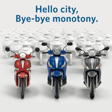 Hello city, bye-bye monotony Settembre 2016!